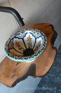 marokkaanse waskom
