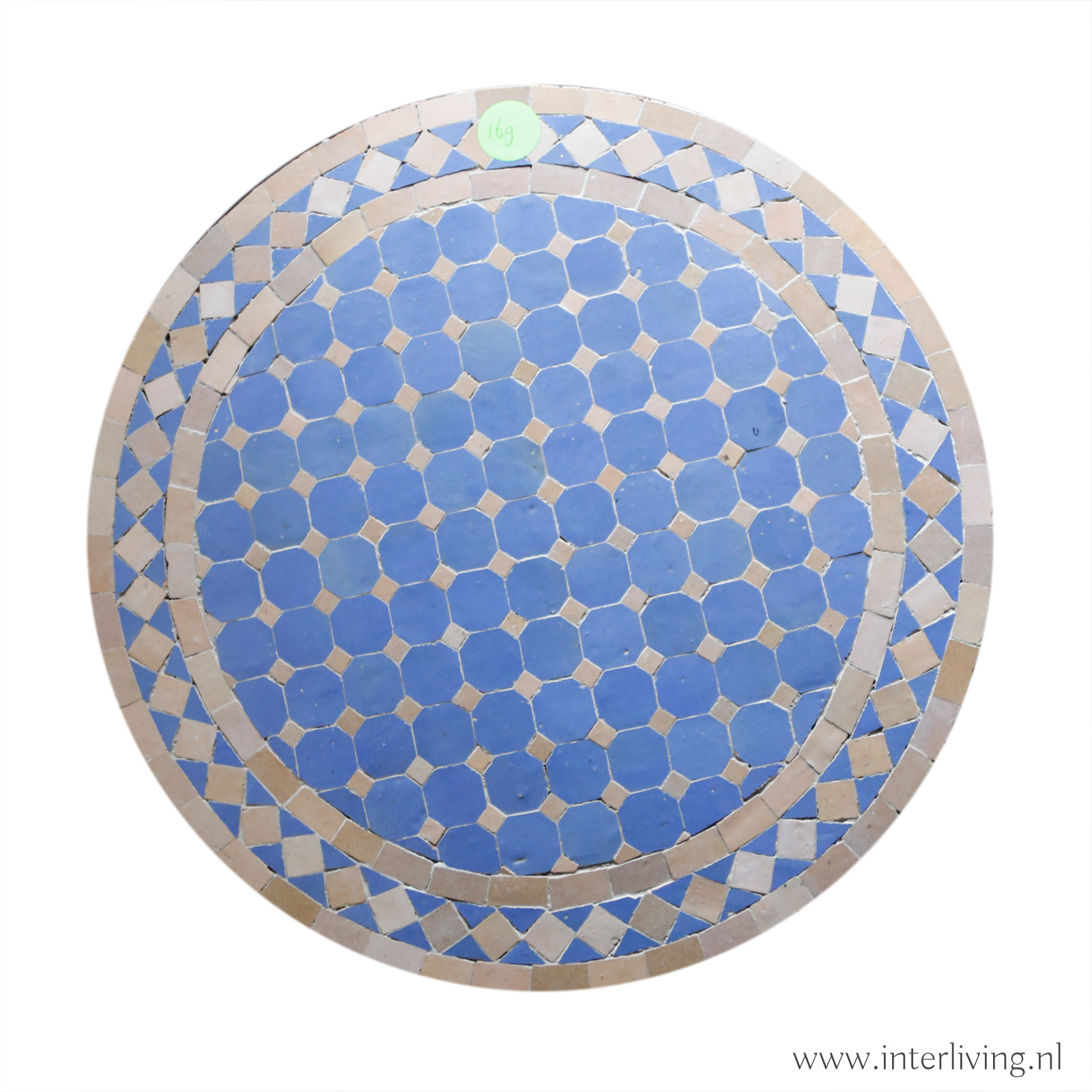 oosterse en bohemian wandlamp met houtsnijwerk - kleurrijke Marokkaanse stijl met glasmozaïek