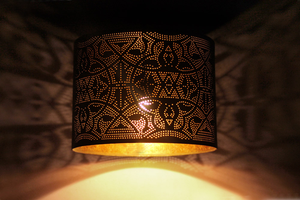 filigrain lampen open hanglampen matzwart goud en zilver. Black Bedroom Furniture Sets. Home Design Ideas