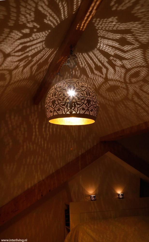 zolder sfeerverlichting romantische slaapkamer tips  filigrain lampen, Meubels Ideeën